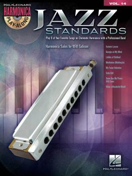 Jazz Standards: Harmonica Play-Along Volume 14 Chromatic Harmonica (HL-00001335)