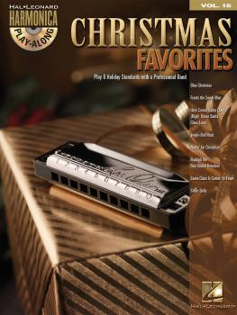 Christmas Favorites: Harmonica Play-Along Volume 16 (HL-00001350)