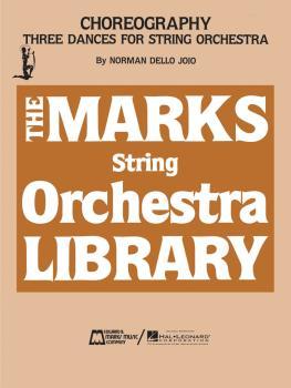 Choreography - Three Dances for String Orchestra (HL-00006126)