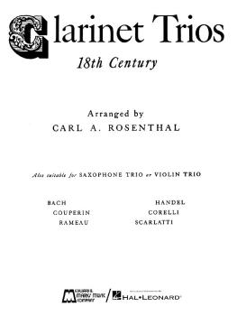 Clarinet Trios of the 18th Century (Score and Parts) (HL-00008323)