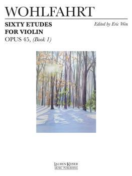 60 Etudes for Violin, Op. 45 (Book 1) (HL-00042303)