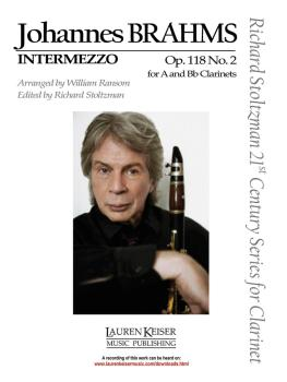 Intermezzo, Op. 118, No. 2: Clarinet in A or B-flat and Piano Richard  (HL-00042682)