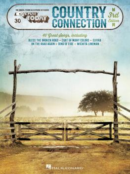 Country Connection - 2nd Edition: E-Z Play Today Volume 30 (HL-00100030)