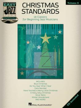 Christmas Standards: Easy Jazz Play-Along Volume 6 (HL-00101397)