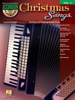 Christmas Songs: Accordion Play-Along Volume 4 (HL-00101770)