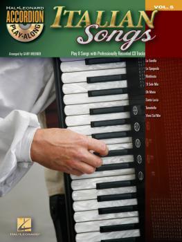 Italian Songs: Accordion Play-Along Volume 5 (HL-00101771)