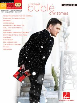 Michael Bublé - Christmas: Pro Vocal Men's Edition Volume 62 Book with (HL-00101777)