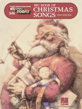 Big Book of Christmas Songs: E-Z Play Today Volume 346 (HL-00102235)