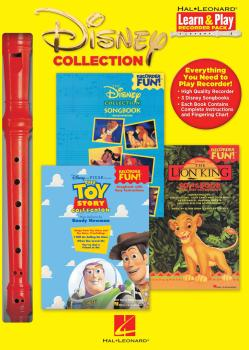 Disney Collection: Learn & Play Recorder Pack (HL-00102419)