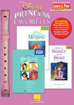 Disney Princess Favorites: Learn & Play Recorder Pack (HL-00102842)