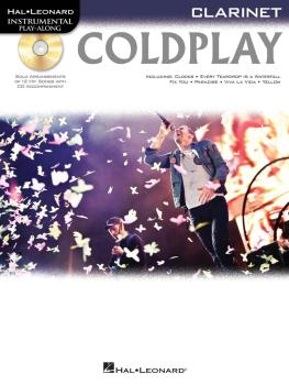 Coldplay (for Clarinet) (HL-00103338)