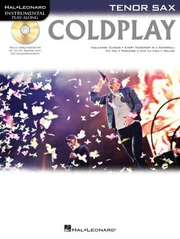 Coldplay (for Tenor Sax) (HL-00103340)