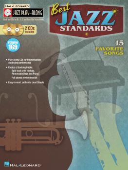 Best Jazz Standards: Jazz Play-Along Volume 169 (HL-00109249)