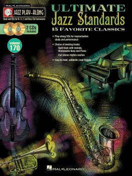 Ultimate Jazz Standards: Jazz Play-Along Volume 170 (HL-00109250)