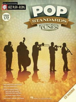 Pop Standards: Jazz Play-Along Volume 172 (HL-00111669)