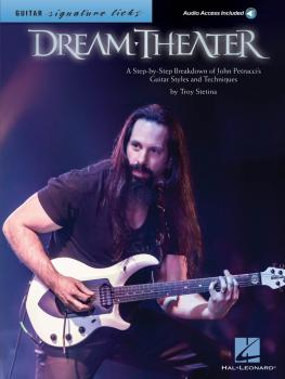 Dream Theater - Signature Licks: A Step-by-Step Breakdown of John Petr (HL-00111943)