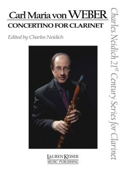 Carl Maria von Weber - Concertino for Clarinet: Clarinet and Piano Cha (HL-00111948)