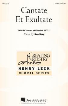 Cantate et Exultate (HL-00114513)
