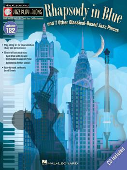 Rhapsody in Blue & 7 Other Classical-Based Jazz Pieces: Jazz Play-Alon (HL-00116847)
