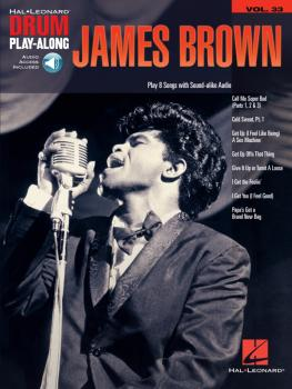 James Brown: Drum Play-Along Volume 33 (HL-00117422)