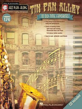 Tin Pan Alley: Jazz Play-Along Volume 174 (HL-00119125)