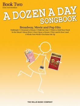 A Dozen A Day Songbook - Book 2: Early Intermediate Level (HL-00119241)