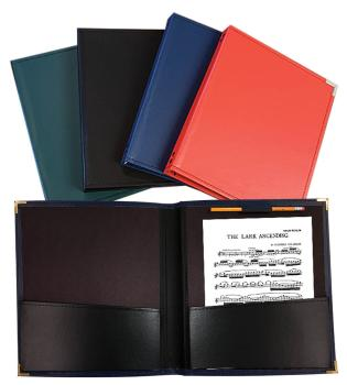 Band and Orchestra Folder: Blue Rehearsal Folder, 12 x 14 (HL-00119381)
