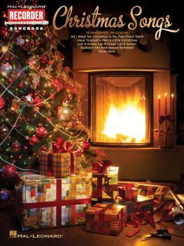 Christmas Songs: Hal Leonard Recorder Songbook (HL-00120276)