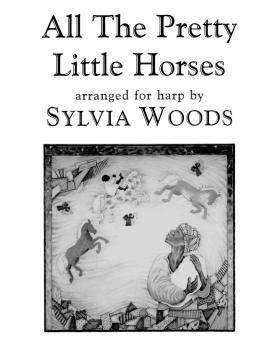 All the Pretty Little Horses (Arranged for Harp) (HL-00121073)