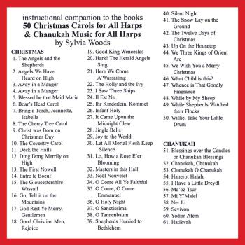 50 Christmas Carols for All Harps: Companion CD to the Songbook (HL-00121115)