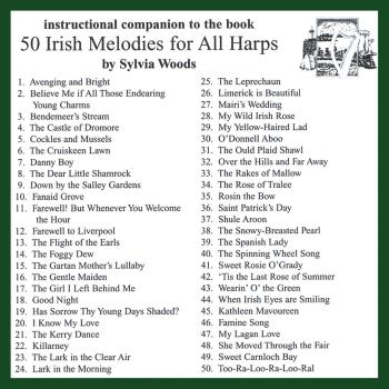 50 Irish Melodies for All Harps: Companion CD to the Songbook (HL-00121119)