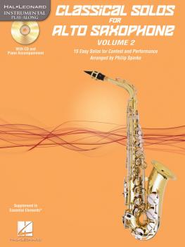 Classical Solos for Alto Saxophone, Vol. 2: 15 Easy Solos for Contest  (HL-00121140)
