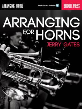 Arranging for Horns (HL-00121625)