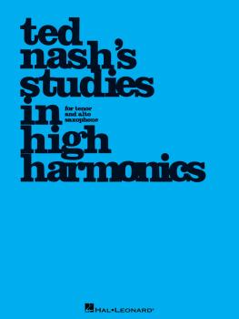 Ted Nash's Studies in High Harmonics (HL-00123227)