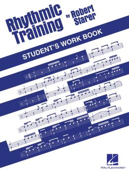 Rhythmic Training (Student's Workbook) (HL-00123559)