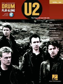 U2: Drum Play-Along Volume 34 (HL-00124470)