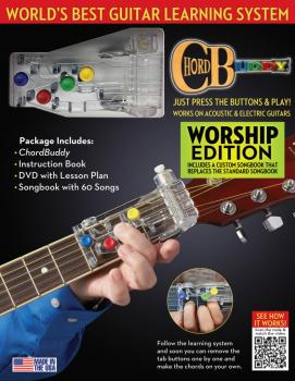 ChordBuddy Guitar Learning System - Worship Edition (HL-00124638)