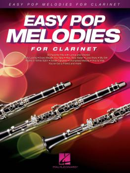 Easy Pop Melodies (for Clarinet) (HL-00125785)