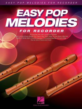 Easy Pop Melodies (for Recorder) (HL-00125795)