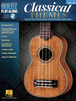 Classical Themes: Ukulele Play-Along Volume 33 (HL-00127892)
