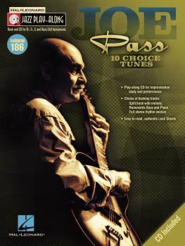 Joe Pass: Jazz Play-Along Volume 186 (HL-00128391)
