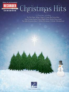 Christmas Hits: Hal Leonard Recorder Songbook (HL-00128730)