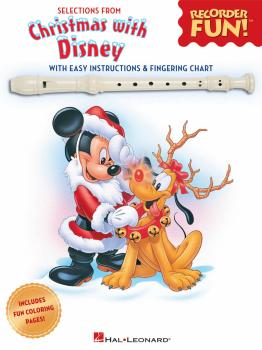 Christmas with Disney: Selections from Recorder Fun!® (HL-00128853)