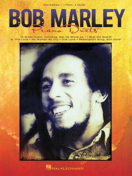 Bob Marley for Piano Duet (Intermediate Piano Duet 1 Piano, 4 Hands) (HL-00129926)