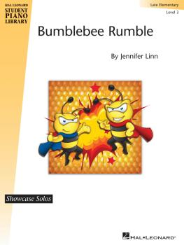 Bumblebee Rumble: Hal Leonard Student Piano Library Showcase Solo Leve (HL-00130238)