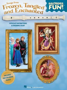 Songs from Frozen, Tangled and Enchanted - Recorder Fun! (with Easy In (HL-00130680)
