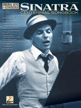 Frank Sinatra - Centennial Songbook - Original Keys for Singers (HL-00131000)