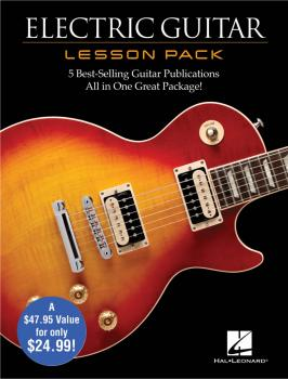 Electric Guitar Lesson Pack: Boxed Set with Four Books & One DVD (HL-00131553)
