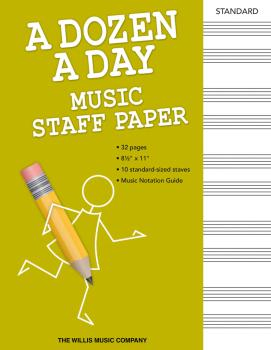 A Dozen a Day - Music Staff Paper (HL-00138051)