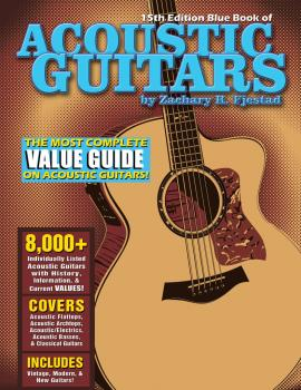 Blue Book of Acoustic Guitars - 15th Edition (HL-00138729)